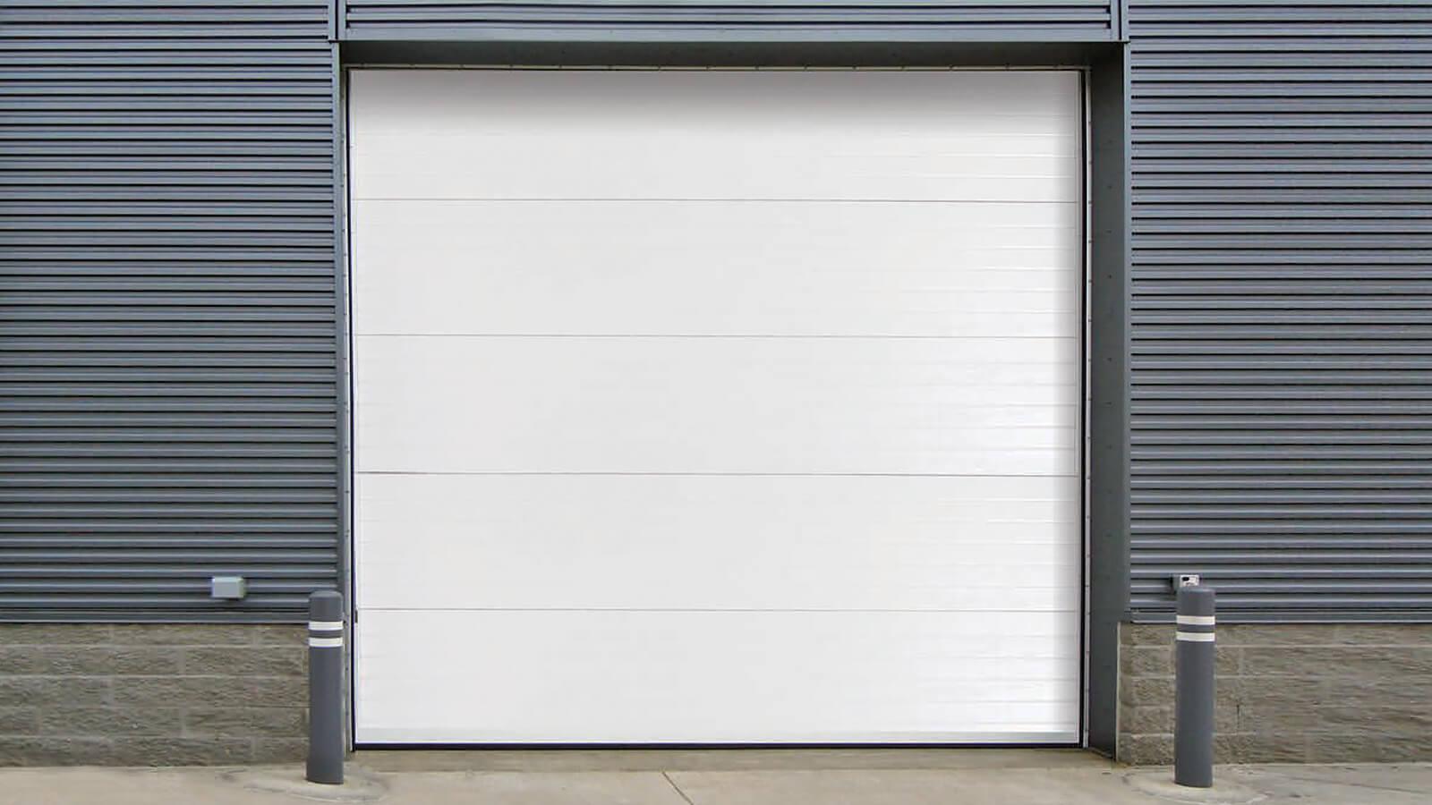 Insulated Sectional Steel Garage Door